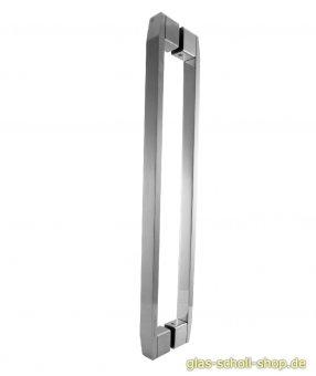 MWE Move Griff / Handtuchhalter beidseitig L=400 mm Edelstahl geschliffen