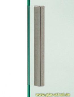 eins. selbstkl. Stilgriff 150x12x17/8/4 (Stk) 720 Edelstahl matt h=17mm