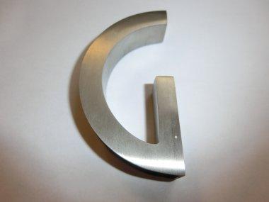 Design G-Edelstahl-Griffmuschel für 10mm Glas!!AUSSTELLUNGSSTÜCK!!
