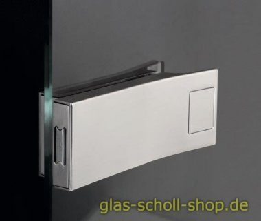 Elektronisches Glastürschloss Smart Entrance,  Edelstahloptik gebürstet (NUR SCHLOSS)