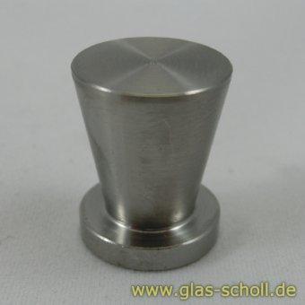 Edelstahl Griff zum aufkleben d=16mm