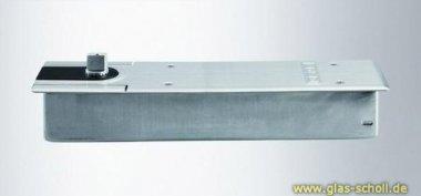 GEZE Bodentürschließer TS 500 NV, für Anschlag- und Pendeltüren, mit Feststellung 90° / 95 °