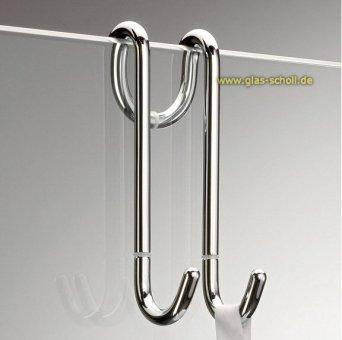 Handtuchhalter-Haken DH1 (aufsteckbar) glanzverchromt