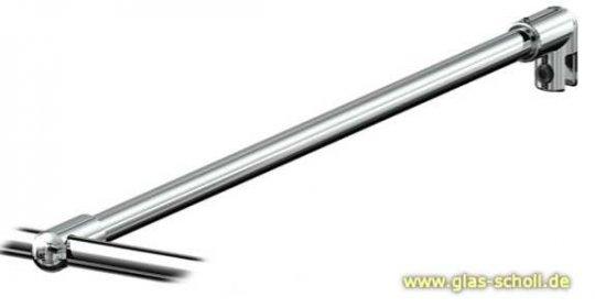 geniales T-Verbindungsstück für runde Stabistangen P8445/P8444 glanzverchromt (MS7)