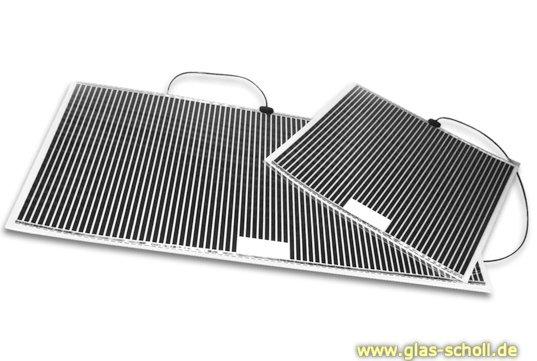 Spiegelheizung - Anti Beschlag Pad - beheizbarer Spiegel 274x274 mm