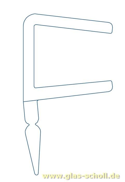 glas scholl webshop dichtprofil 11mm f r schiebet ren mit lippe 2500mm duschdichtung 6 8mm. Black Bedroom Furniture Sets. Home Design Ideas