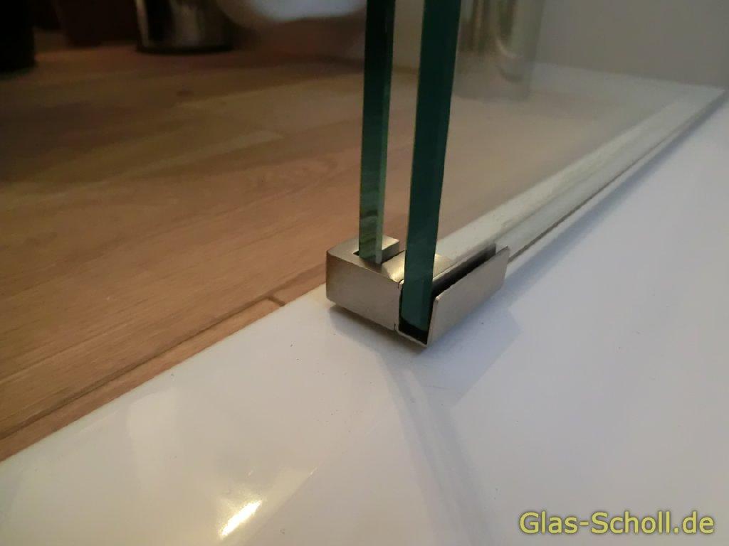 glas scholl webshop anschraubbare sonder bodenf hrung f r schiebet r duschen geschliffen. Black Bedroom Furniture Sets. Home Design Ideas