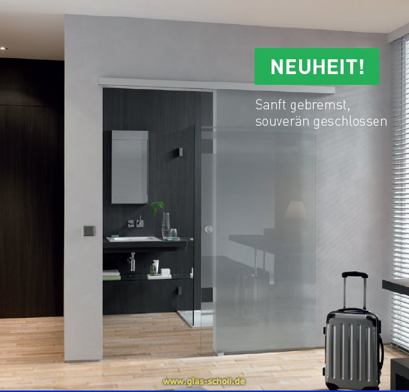 glas scholl webshop softstop schiebet r set portavant60 1flgl ohne glas ev1 silber matt. Black Bedroom Furniture Sets. Home Design Ideas