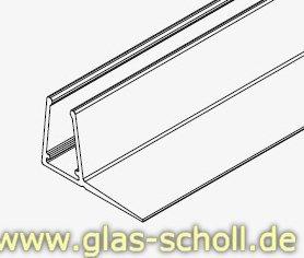glas scholl webshop dichtprofil f r 15mm versetzte schiebet ren mit lippe 2010mm f r 6 8mm. Black Bedroom Furniture Sets. Home Design Ideas