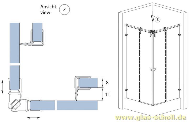glas scholl webshop dichtprofil 11mm f r schiebet ren mit lippe 2010mm duschdichtung f r 6. Black Bedroom Furniture Sets. Home Design Ideas
