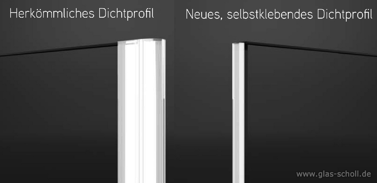 glas scholl webshop | selbstklebende fluchtende 180 grad magnet