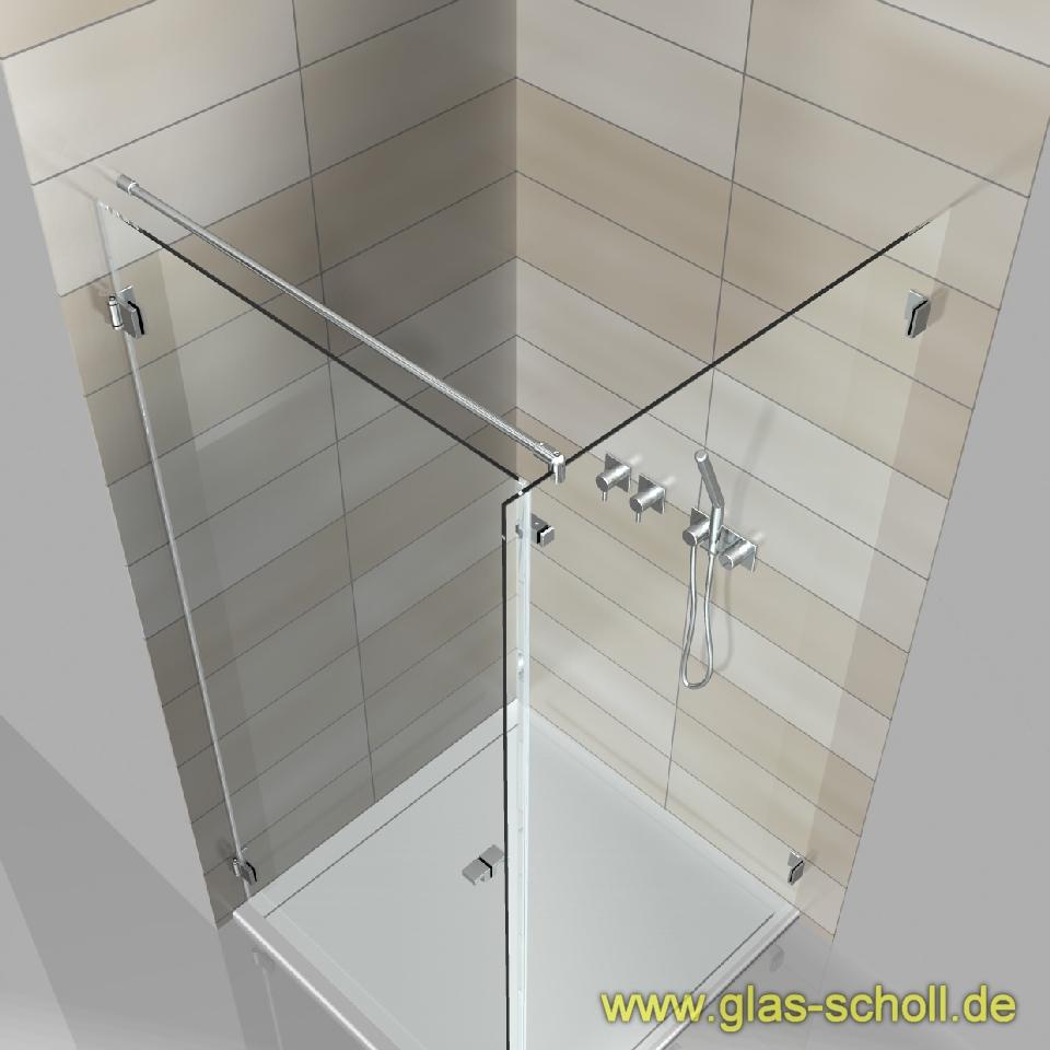 glas scholl webshop runde stabilisierungsstange glas wand k rzbar 0 46 2m 1m glanzverchromt. Black Bedroom Furniture Sets. Home Design Ideas