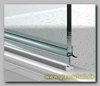 glas scholl webshop unteres wasserabweisprofil mit 135 lippe 1000mm duschdichtung f r 10. Black Bedroom Furniture Sets. Home Design Ideas